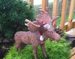 moose figurine etsy