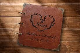 personalized photo albums rustic photo album personalized photo album pu leather photo