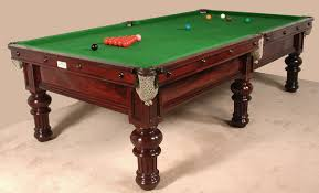 quarter size pool table a three quarter size 9ft x 4 5ft antique billiard snooker table by