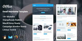 office multipurpose responsive email template stamp ready