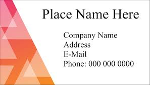 Free Avery Business Card Template by Avery Clean Edge Rounded Corner Business Cards 88220 2 X 3 1 2