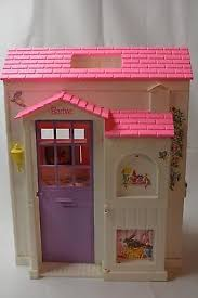 1996 mattel barbie folding pretty pink doll house 3 rooms 17