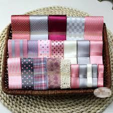 lace ribbon wholesale 22 yds mixed ribbon wholesale printed satin grosgrain cotton lace