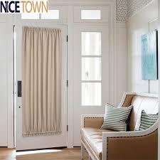 Pinch Pleated Patio Door Drapes by Thermal Door Curtains Online Integralbook Com