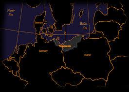 Agrarian Skies Map Pomerania Poland And The Pomeranian Feast