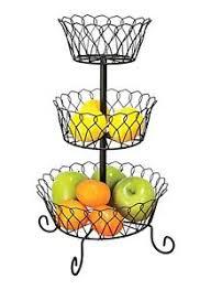 3 tier fruit basket 3 tier fruit basket bowl holder stand kitchen vegetables storage