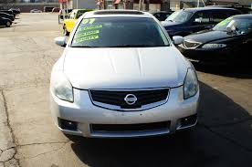 2007 nissan maxima se 4dr silver sedan used car