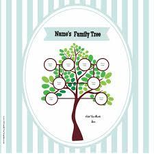 printable free family tree template family tree pattern printable free download simple family template