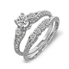 Engagement Wedding Ring Sets by Wedding Rings Sets White Gold The Best And Sensible Buying Tips