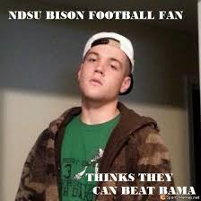Funny College Football Memes - ndsu bison meme