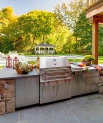 Outdoor Kitchen Storage Cabinets - kalamazoo hybrid fire grill and outdoor storage cabinets