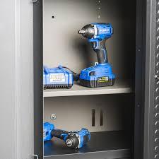 Kobalt Storage Cabinets Shop Kobalt 30 In W X 30 In H X 14 In D Steel Wall Mount Garage