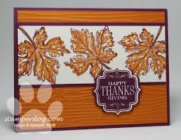 thanksgiving card stin up demonstrator m clemmer