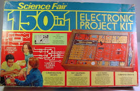 electronic project kits hands on with a vintage 160 in 1