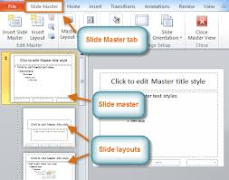 powerpoint 2010 slide master view full page