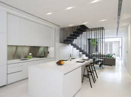 Terrace Home Goes Modern Singapore Style - Home terrace design