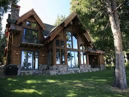 cottage design lake front home designs at unique lakefront cabin cottage home