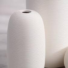 helicoid cylinder plain porcelain vase ornament ceramic