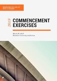 graduation program templates canva