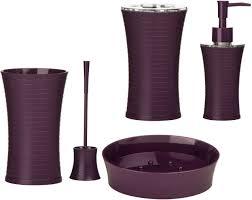 Purple Bathroom Accessories by Plum Coloured Bathroom Accessories