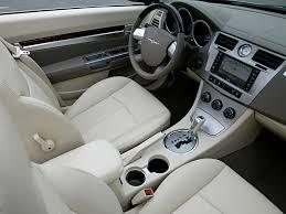 interior 2008 u201310 chrysler sebring convertible js u00272007 u201311