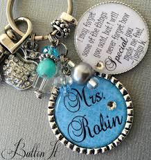 teacher gift personalized keychain teacher appreciation