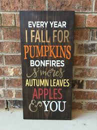 fall wood sign fall sign fall decor thanksgiving by applelini