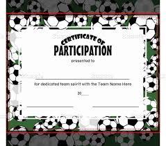 free football certificate templates template update234 com