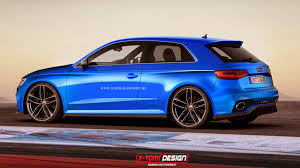 audi rs3 cabriolet 2015 audi rs3 three door and sportback rendered