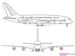 10 how to draw an airplane