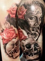 day of the dead tattoo by matt parkin soular tattoo