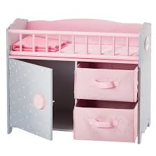 Baby Doll Changing Table S World Polka Dots Princess Baby Doll Crib With