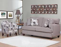 Living Room Sets With Accent Chairs Funiture Traditional Printed Fabric Wingback Accent Chair Front