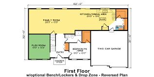 Arlington House Floor Plan Arlington Fine Line Homes