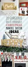 20 gorgeous diy christmas mantel decor ideas