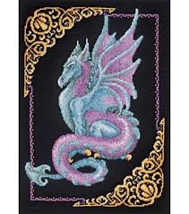 janlynn mythical picture cntd x stitch kit joann