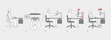 Ergonomic Office Desk Setup How To Create An Ergonomic Workstation Loctek Ergonomic