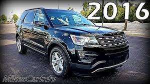 Ford Explorer 2016 - 2016 ford explorer xlt ultimate in depth look youtube