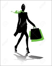 Free Silhouette Images Woman Silhouette Shopping Bags Royalty Free Cliparts Vectors And