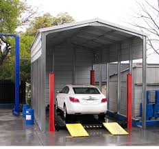 Rv With Car Garage Projects Discount Metal Panels Steel Buildings Sacramento