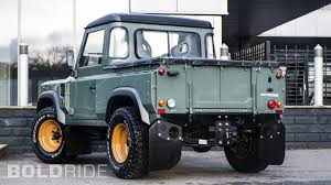 kahn land rover defender a kahn design land rover defender 2 4 tdci 90 pick up motor1