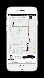 Map My Ride App Mobile Transportation Platform U0026 Management Software Faretech