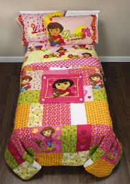 Dora Comforter Set Dora Explorer Toddler Bed Hola Explorers Comforter Sheets