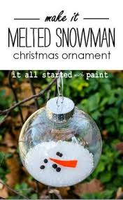 melted snowman ornament melted snowman ornament snowman and