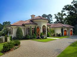 one story mediterranean house plans one story mediterranean house plans home designs custom home