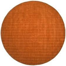8x12 Area Rug 8 Wool Rug Tufted Pulse Orange Wool Rug 8 X 12