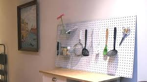 pegboard ideas kitchen pegboard kitchen wall evropazamlade me