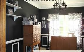 black mirrored dining room hometalk