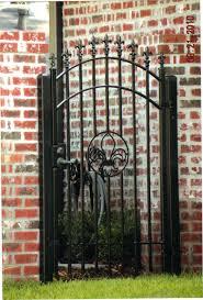decorative residential wrought iron gates milton fence company