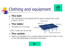 10 rules of table tennis ping pong or table tennis index historical clothing and equipment